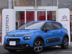 シトロエン C3フィール 当社試乗車 新車保証継承 セーフティブレーキ