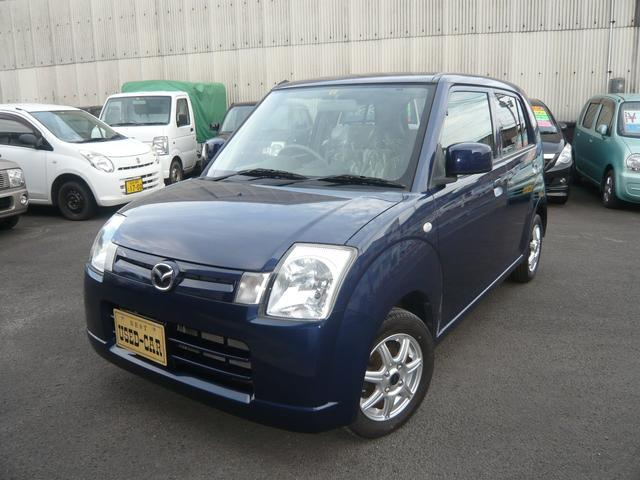 マツダ キャロル X 63000キロ ナビ&地デジ 新品フロアマット 4AT&ABS 社外アルミ