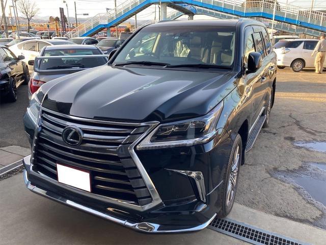 LX LX570 4WD レザーシート サンルーフ ドラレコ ETC ナビ TV