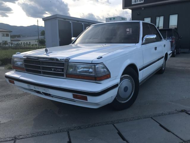 Fabulous Nissan Gloria Brougham Turbo 1985 White 94 410 Km Pabps2019 Chair Design Images Pabps2019Com