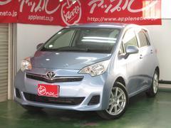 ラクティスX 4WD 純正ナビ地デジTV ワンオーナー買取車