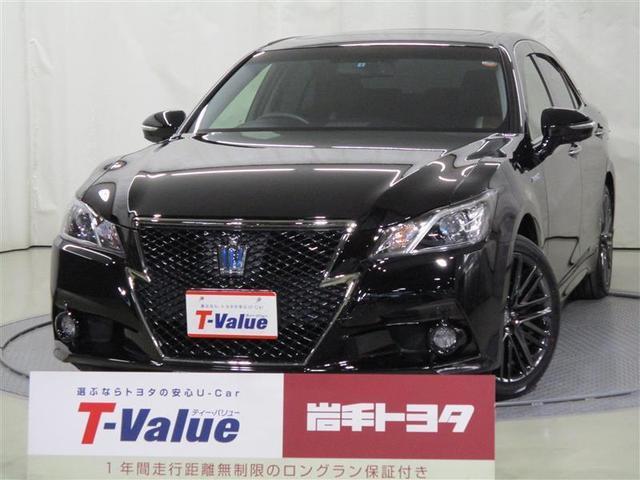 トヨタ アスリートS Four ブラレザ 4WD バックモニター