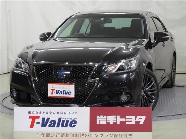 トヨタ アスリートS Four ブラックスタイル 4WD HDDナビ