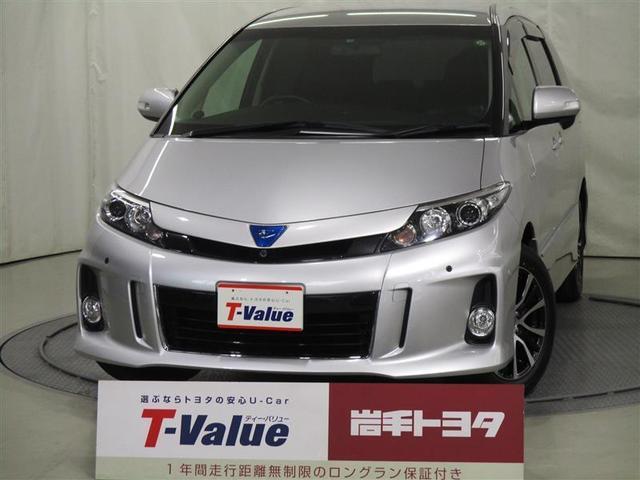 トヨタ アエラス レザーパッケージ 4WD パワースライドドア