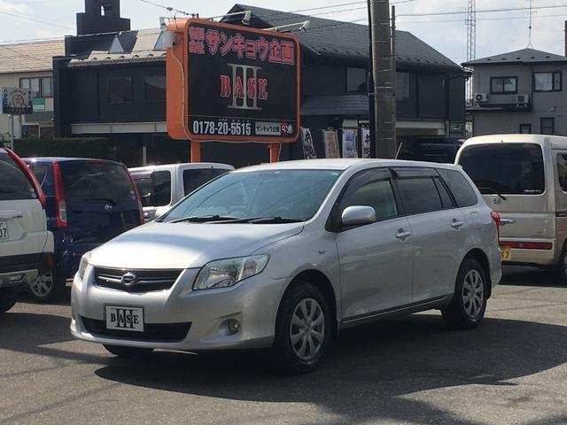 トヨタ 1.5X Gエディション 4WD DVDナビ バックカメラ