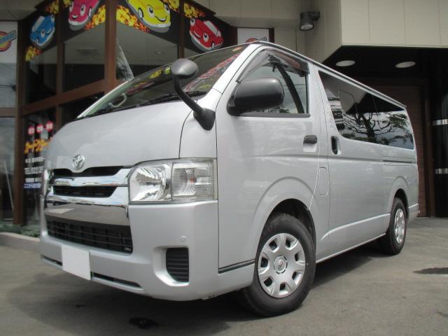 トヨタ ロングDX GLパッケージ 4WD 9人乗