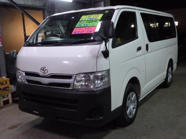 トヨタ ロングDX 4WD 9人乗り ナビ ワンセグTV CD