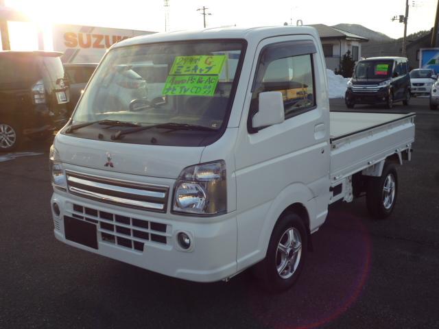 三菱 G 4WD ナビ ワンセグTV CD バックカメラ