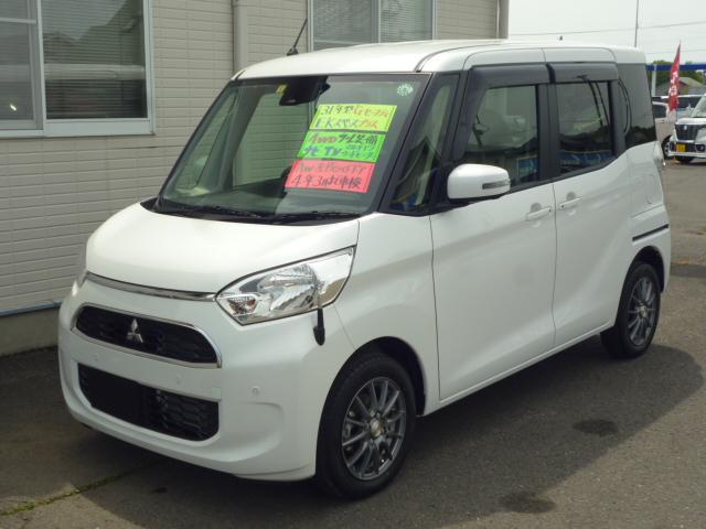 三菱 eKスペース Gセーフティ プラスエディション 4WD ナビ フルセグTV