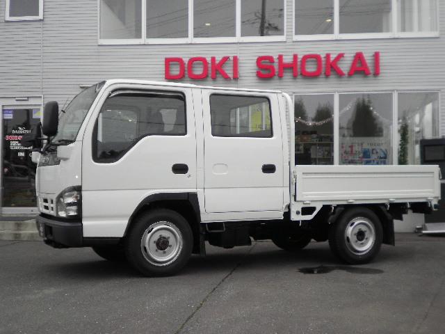 いすゞ エルフトラック  Wキャブ4WDオートマETC 6人乗り 最大積載量950kg