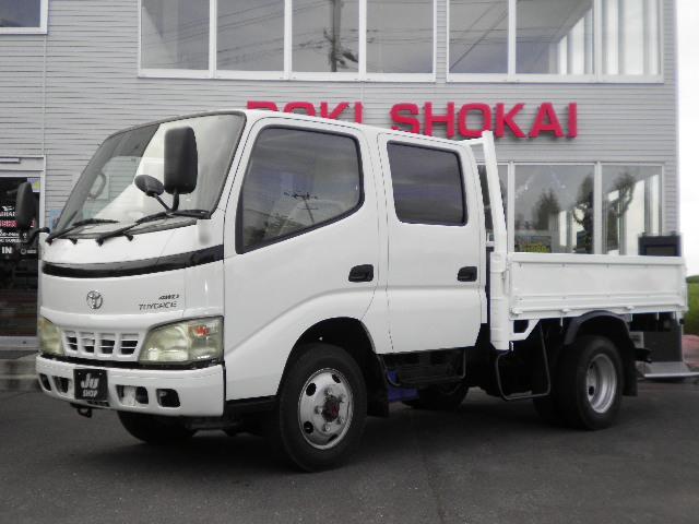 トヨタ トヨエース Wキャブセミロング4WD最大積載量2t