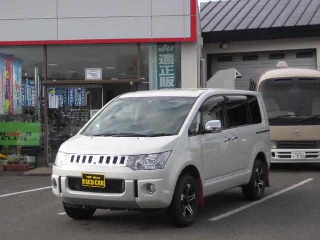 三菱 G プレミアム 4WD/両側電動スライドドア/電動バックドア