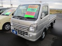 キャリイトラックKX エアコン パワステ 4WD マニュアル 届出済未使用車