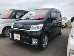 ムーヴカスタム X ナビ 軽自動車 CVT 保証付 AC アルミ