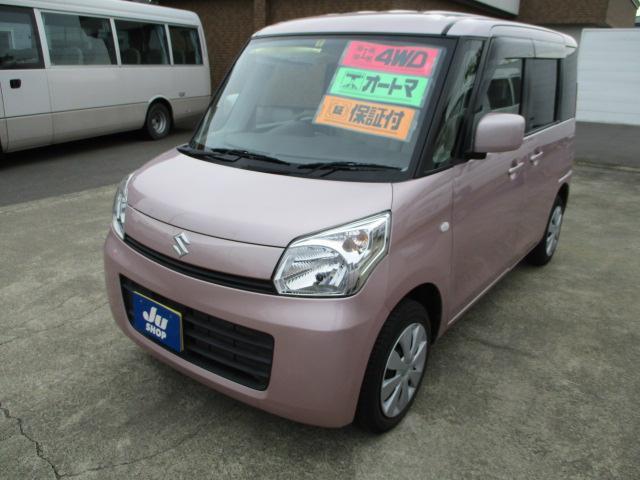 スズキ G ナビ TV 軽自動車 4WD インパネCVT 保証付