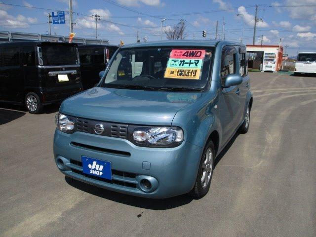 日産 15X FOUR インディゴ+プラズマ 4WD TV ナビ
