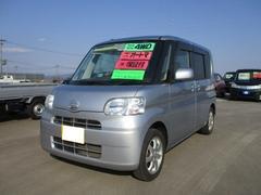 タントL 軽自動車 4WD ブライトシルバーメタリック CVT