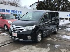 セレナハイウェイスター Vセレクション 4WD TV ナビ