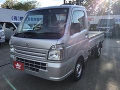 キャリイトラックKCエアコン・パワステ 4WD レーダーブレーキサポート 5MT エアコン パワステ 届出済未使用車