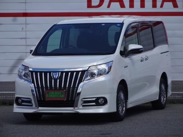 トヨタ ハイブリッドGi 1オーナー 社外SDナビ LEDライト