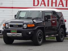 FJクルーザーブラックカラーパッケージ 4WD 純正SDナビ フルセグ