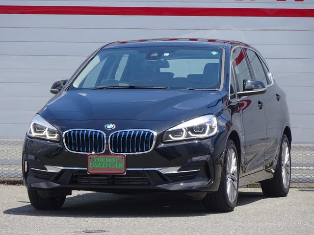 BMW 225xeアイパフォーマンスAツアラーラグジュアリー 4WD 純正HDDナビ バックモニター ブラックレザーシート シートヒーター クルーズコントロール LEDヘッドライト 純正17inアルミホイール スマートキー ETC
