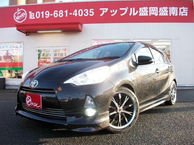 トヨタ S ダウンサス WORK17AW ナビ TV ETC