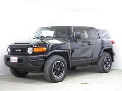 FJクルーザーブラックカラーパッケージ 4WD メモリーナビ フルセグ
