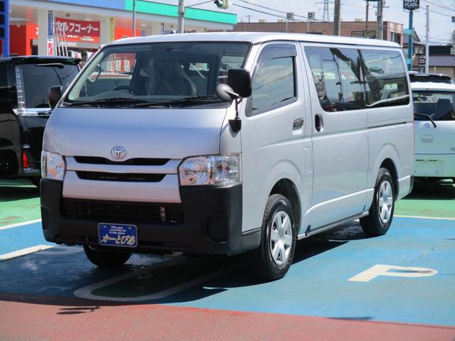 トヨタ ハイエースバン  4WD エアコン パワステ パワーウィンドウ ABS ETC パワーヒーター 排気ガス浄化スイッチ