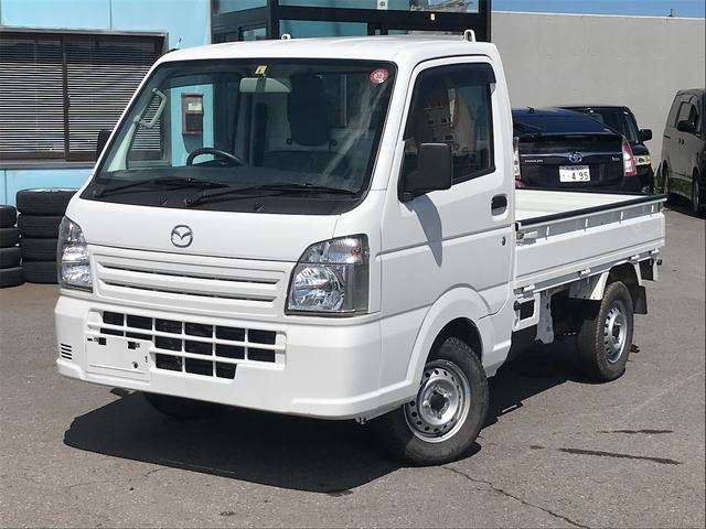 マツダ KCエアコン・パワステ 4WD 3方開 オートマ レベライザ