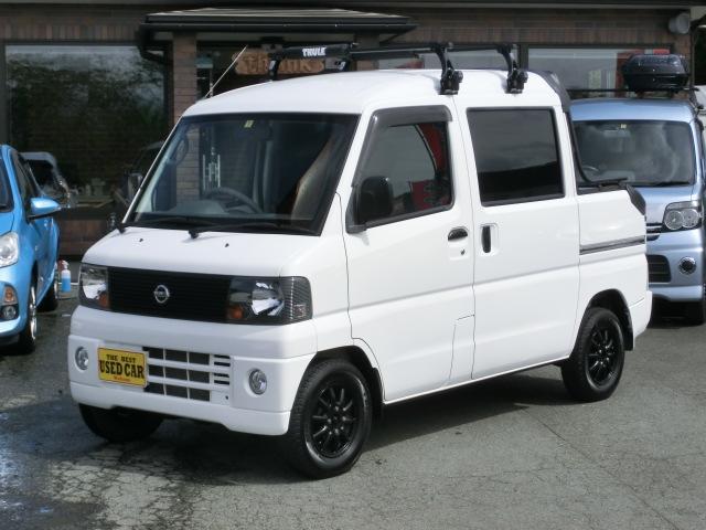 日産 Wキャブ 4WD オートマ