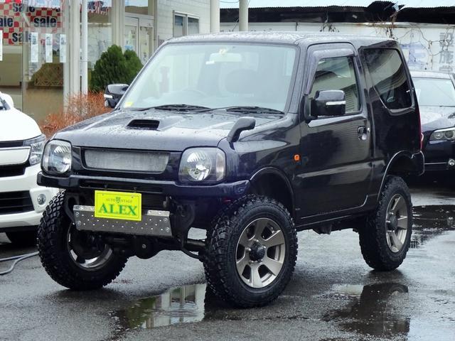 スズキ クロスアドベンチャー 4WD 2.5インチリフトアップ