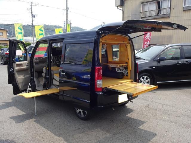 スズキ JPターボ 4WD キャンピング仕様 ワンオーナー ナビTV