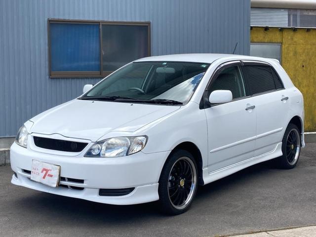 トヨタ XS150 Sエディション 4WD CD AUX接続可能 キーレスエントリー エンジンスターター 社外17インチアルミ フルエアロ 電動格納ミラー 記録簿