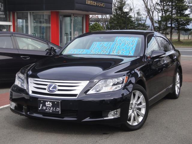 レクサス LS600h バージョンU 4WD 純正ナビTV