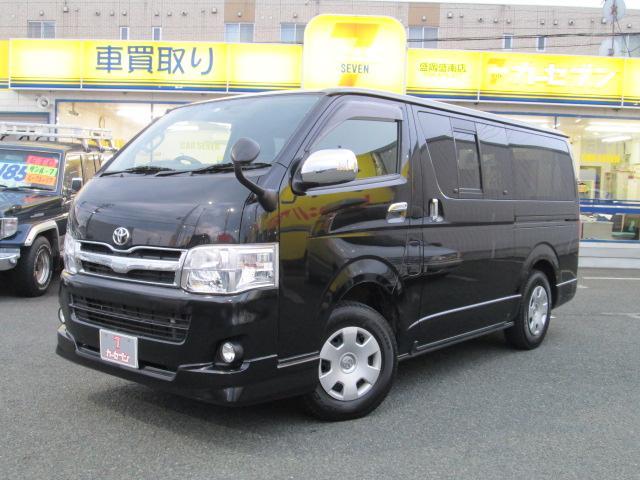 トヨタ ロングスーパーGL 社外SDナビ TV 4WD ターボ