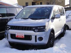 デリカD:5M 4WD ナビ 片側電動スライドドア Wエアバッグ ABS