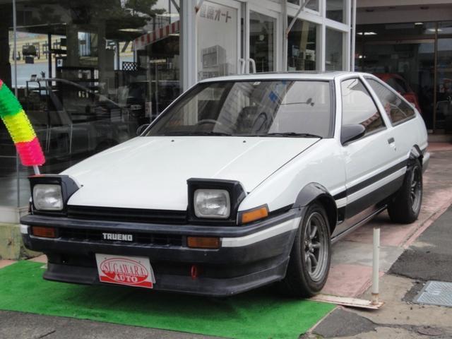 トヨタ GT APEX 社外マフラー ワタナベAW