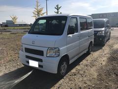 バモスM 軽自動車 4WD タフタホワイト AT AC