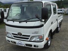 ダイナトラックWキャブ ロング オートマ リアヒーター 4WD