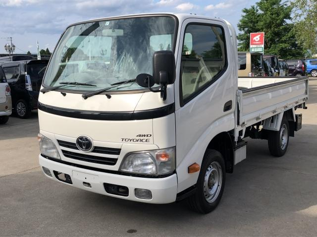 トヨタ DX 3方開 シングル 低床 4WD 積載量 1250kg