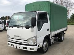 エルフトラック平ボディ 4WD 幌付 積載量2000kg 準中型免許 AT