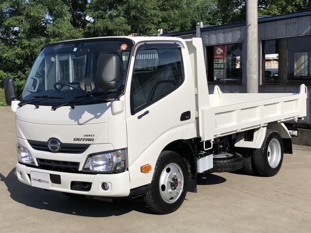 日野 全低床 2tダンプ 4WD 積載2000kg