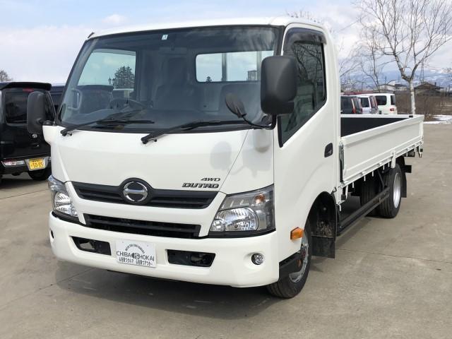 日野 ワイド ロング 4WD PTO付き 積載 2000kg