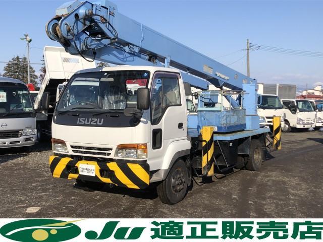いすゞ 高所作業車 アイチ製 SJ240 ブーム長さ2.36m