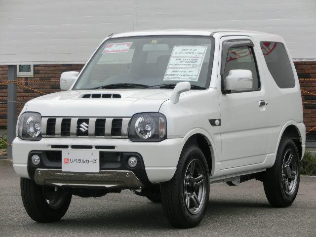 スズキ ランドベンチャー 4WD ターボ 社外ナビ 登録済未使用車