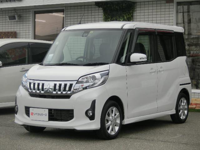 三菱 カスタムG e-アシスト 4WD 左パワースライドドア