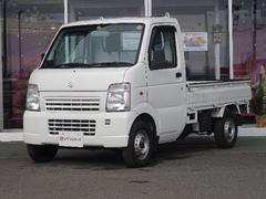 キャリイトラックKC 4WD エアコン パワステ禁煙車使用ライトレベライザー