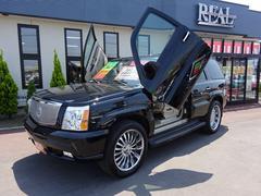 キャデラック エスカレードベースグレード 4WD 1ナンバー ガルウィング