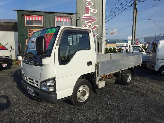 いすゞ 4WD 平ボディー アルミブロック 1.25t
